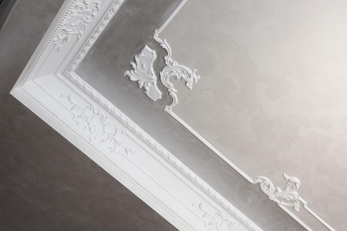 Elementi decorativi e cornici gesso faccini - Stucchi decorativi per pareti ...